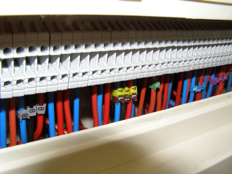 Cablâge domotique: